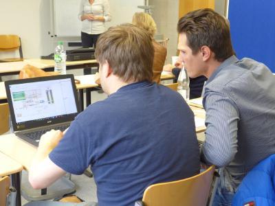 Fernstudierende des MBA-Studiengangs Logistik - Management & Consulting, Foto:Hochschule Ludwigshafen am Rhein