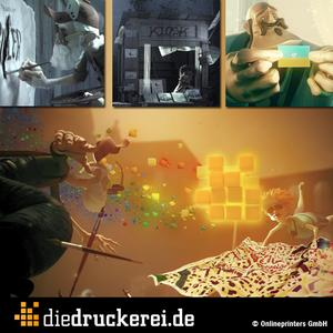 The new commercial of diedruckerei.de, (Copyright: Onlineprinters GmbH)