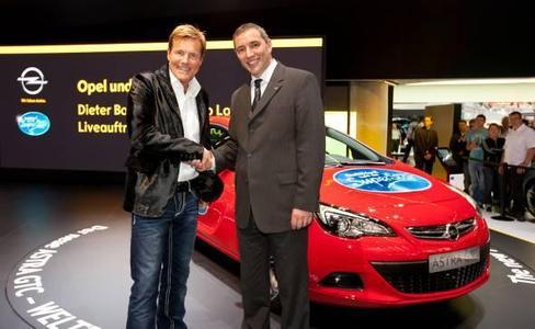 Deutschland sucht den Superstar – mit dem neuen Opel Astra GTC