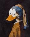 Ente mit Perlenohrring © interduck