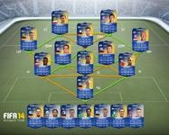 Das ist das Team der Saison der Bundesliga in FIFA 14 Ultimate Team