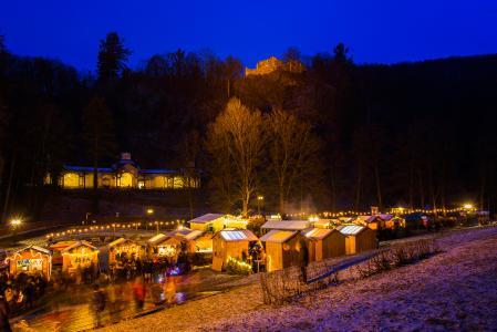 Weihnachtsmarkt Bad Berneck Foto Florian Fraaß
