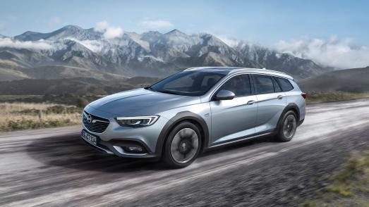 Fürs Abenteuer: Sportlicher Country Tourer mit kernigem Look und allen Qualitäten der zweiten Opel Insignia-Generation