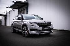 Sports SUV Skoda Kodiaq RS with Milotec tuning on Barracuda rims