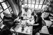 Koordination von CLOSEUP Bremen (v.l.n.r.): Kai Stührenberg (Referatsleiter Innovation, Digitalisierung und neue Themen, Der Senator für Wirtschaft, Arbeit und Häfen), Thomas Schäffer (Geschäftsführer, nordmedia), Laura Byell (Volontärin, nordmedia)