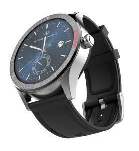 St. Leonhard Smartwatch SW-430.hr mit Always-On-Display, Bluetooth, App, Herzfrequenz, IP68