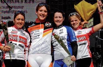Vierfach Triumph bei XC Bundesliga