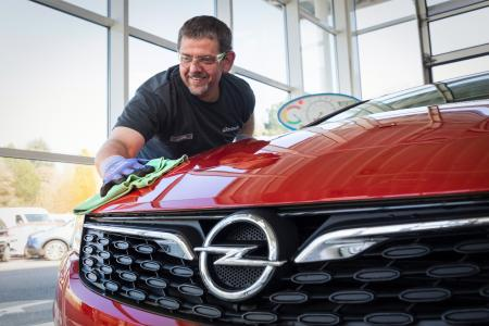 Opel Astra Autopflege