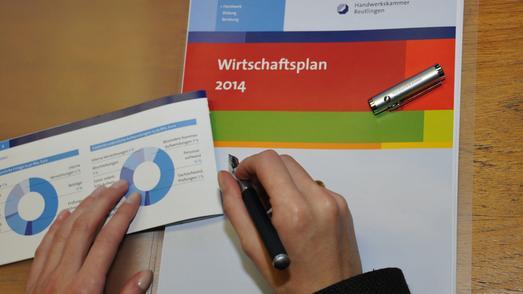 Die Vollversammlung der Handwerkskammer Reutlingen hat den Wirtschaftsplan für das Jahr 2014 einstimmig beschlossen