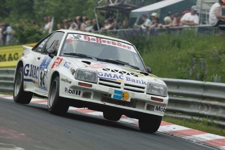 König des 24-Stundenrennens am Ring: Der Opel Manta nach Gruppe H-Reglement / Foto: Adam Opel AG