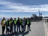 A glimpse into logistics: Students explore work environments of Cuxhaven logistics companies