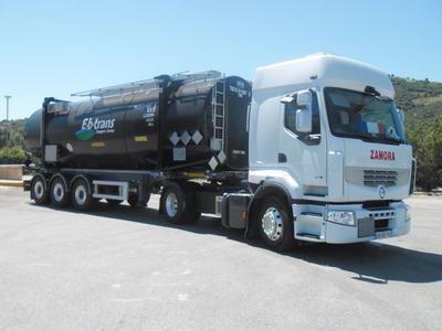 Im Rahmen der europaweiten Partnerschaft übernimmt Continental das Reifenmanagement für das luxemburgische Transportunternehmen E-b-trans