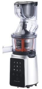 Rosenstein & Söhne 3in1-Slow-Juicer & Entsafter mit Gemüse-Reibe & Eis-Aufsatz, 200 Watt
