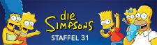 """DIE SIMPSONS"" Staffel 31 ab 27. November auf Disney+"