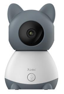 7links WLAN-Video-Babyphone IPC-410.bp, per App dreh- & schwenkbares Objektiv, Full-HD / Bild: PEARL. GmbH / www.pearl.de