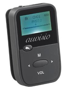 ZX 1786 01 auvisio 2in1 Audio Player und Sprachrekorder DMP 190.rec