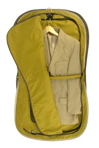 Fits 2 full suits, toiletries,accessories and documents