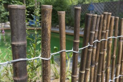 Rollzaun aus Bambus - Für mehr als nur den Japangarten