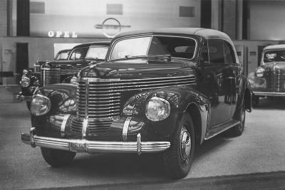 1939 Opel Kapitaen Convertible IAMA Berlin