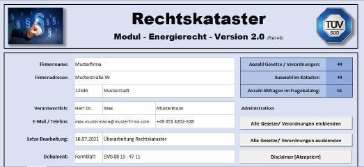 TÜV SÜD bietet komfortables Pflichtenmanagement bei Energiemanagementsystemen