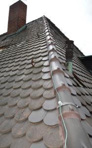 Auch der Blitzschutz sowie die Durchdringungen z. B. für Lüfterrohre werden beim DachCheck einer Sichtprüfung unterzogen