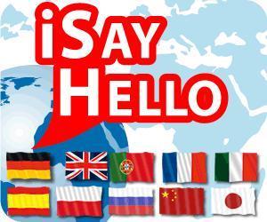 Reise App iSayHello für iPhone, iPad und Android Smartphones