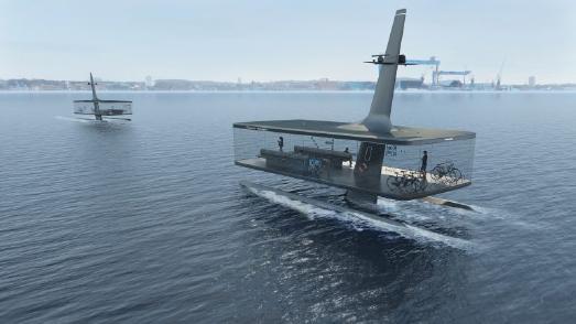 Floating Platform/Muthesius Kunsthochschule