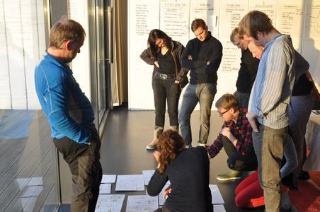 Die Designteams aus drei Ländern arbeiteten Hand in Hand: S...