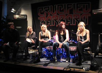 Die vier Musikerinnen standen den Pop-Studierenden am Institut für Musik Rede und Antwort