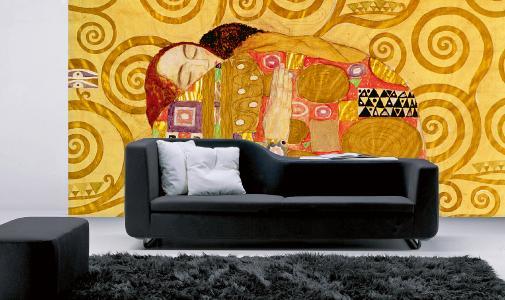 Trendig: Modern Art in bester Auflösung ist ein wahrer Eyecatcher an der Wand / Foto: epr/Erfurt JuicyWalls