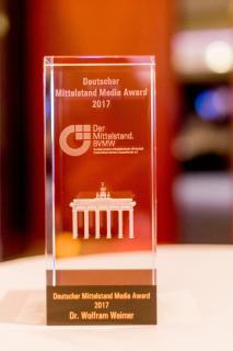 Der Deutsche Mittelstand Media Award 2017