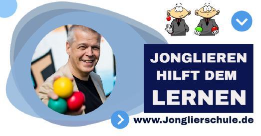 Jonglieren hilft dem lernen > www.Jonglierschule.de