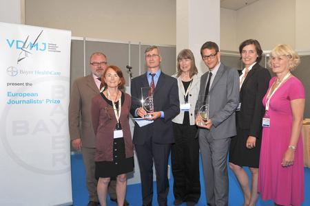 Europäischer Journalistenpreis geht an Martin Thür und Dr. Hellmuth Nordwig