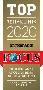 TOP Rehaklinik 2020 Orthopädie