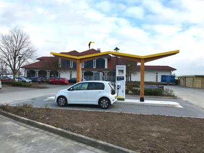 Fastned fast charging station 88 Melle Germany
