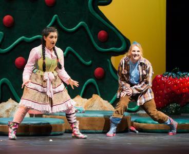 """Rechtzeitig zu Weihnachten: Märchenoper """"Hänsel und Gretel"""" (Foto: Saad Hamza)"""
