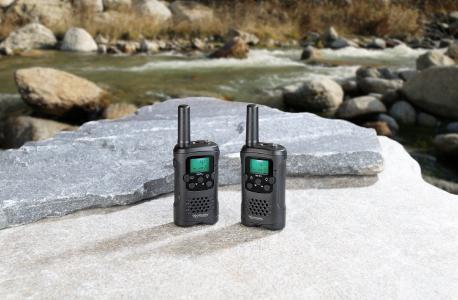 PX 2319 12 simvalley communications 2 er Set Walkie Talkies VOX.