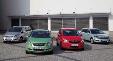 Opel erweitert mit den beiden LPG-Varianten des Agila das Angebot an Autogasfahrzeugenauf insgesamt sieben Modelle. Das breit gefächerte Leistungsspektrum reicht von 48 kW/65 PS beim Agila bis hin zu 101 kW/137 PS beim Zafira.