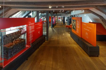Blick in die neue Dauerausstellung