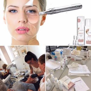 Micro-Needling Schulung an der Kosmetikschule Schäfer in Gießen