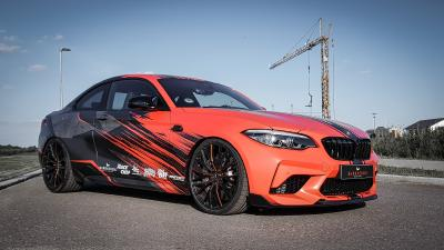 BMW F87 M2 Competition as a cooperation project