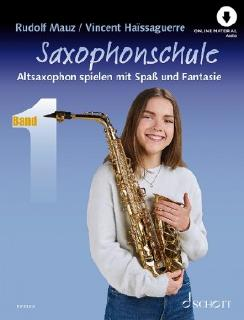 Schott ED23223 Saxophonschule Band 1