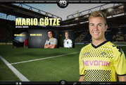 Screenshot Website Mario Götze
