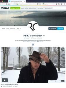 Reiki Meister/Lehrer René Vögtli aus der Schweiz stellt in einem kurzen Videoclip das Projekt Reiki Conciliation vor. Auf youtube ist dies zu finden unter: https://www.youtube.com/watch?v=v9ajzbW2bZM&t=24s