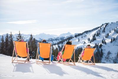 Wintersonne genießen in den Hörnerdörfern im Allgäu