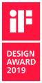 Der iF Design Award 2019 ist die vierte Designauszeichnung für Siedle Axiom / © S. Siedle & Söhne