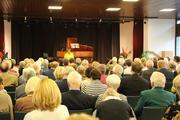 Sabine Fontheim begrüßte das Publikum