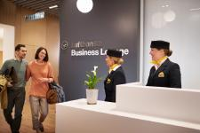 Improved services for Lufthansa lounge guests