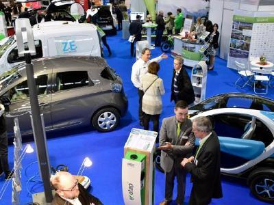 """Sonderschau """"Elektromobilität, Speichern, Laden"""" auf der GETEC"""