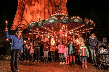 Fackelzug Weihnachten Wunderland Kalkar